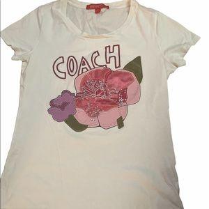 Coach poppy Tshirt